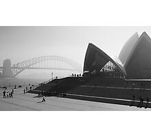 Smokey Saturday in Sydney #2 Photographic Print