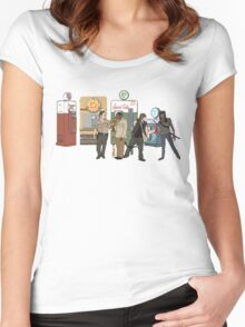 The Walkind Nazi Zombie Slayers 2.0 Women's Fitted Scoop T-Shirt