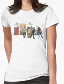 The Walkind Nazi Zombie Slayers 2.0 Womens Fitted T-Shirt