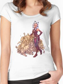 TCW - Who's Counting Women's Fitted Scoop T-Shirt