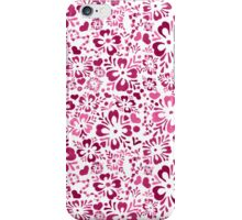 Norwegian Flowers (pink) iPhone Case/Skin
