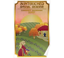 Suntouched Special Reserve Label Poster