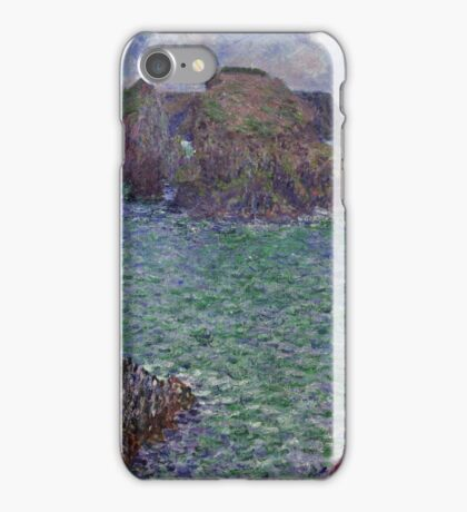 Claude Monet - Port-Goulphar Belle , Impressionism iPhone Case/Skin