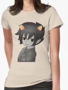 Karkat Vantas Womens Fitted T-Shirt