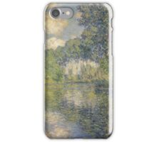 Claude Monet - Poplars on the Epte (1891) , Impressionism iPhone Case/Skin