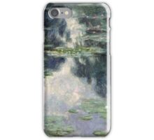 Claude Monet - Pond with Water Lilies (1907)  Impressionism iPhone Case/Skin