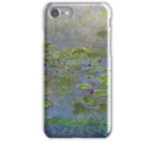 Claude Monet - Waterlilies , Impressionism iPhone Case/Skin
