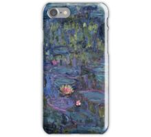 Claude Monet French Impressionism Oil Painting Waterlilies iPhone Case/Skin