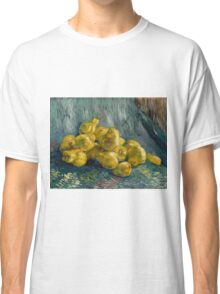 Vincent Van Gogh  Post- Impressionism Oil Painting, Still Life with Quinces, 1888 - 1889 Classic T-Shirt