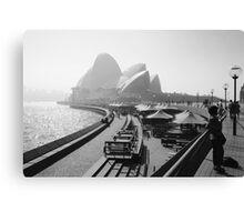 Smokey Saturday in Sydney #4 Canvas Print