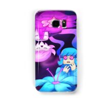 Rose and Orchid, Pink and Blue Samsung Galaxy Case/Skin
