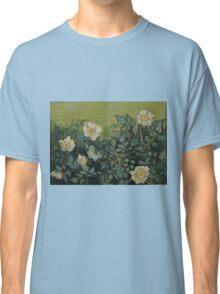 Vincent Van Gogh - Wild roses, Famous Painting. Impressionism. Van Gogh Classic T-Shirt