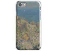 Claude Monet - La maison du pêcheur Varengeville French  Impressionism.  iPhone Case/Skin
