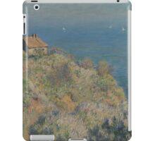 Claude Monet - La maison du pêcheur Varengeville French  Impressionism.  iPad Case/Skin