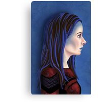 Illyria Portrait Canvas Print