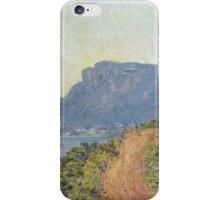 Claude Monet - La Corniche near Monaco  Impressionism iPhone Case/Skin