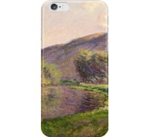 Claude Monet - Jeufosse  The Effect in the Late Afternoon  iPhone Case/Skin
