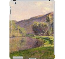 Claude Monet - Jeufosse  The Effect in the Late Afternoon  iPad Case/Skin