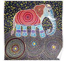 A Celebration Elephant Poster