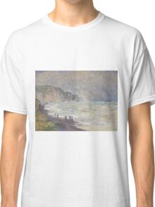 Claude Monet - Heavy Sea at Pourville (1897) Classic T-Shirt