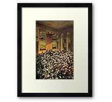 Investiture of the Military Order of Maria Theresa at the Viennese Court Framed Print