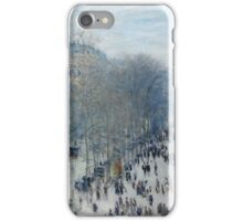 Claude Monet - Boulevard des Capucines (1873 - 1874) iPhone Case/Skin