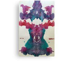 Ocean Inkblot Canvas Print