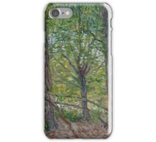 Vincent Van Gogh - Trees, July 1887 iPhone Case/Skin