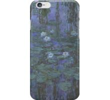 Claude Monet - Blue Water Lilies (1916 - 1919) iPhone Case/Skin