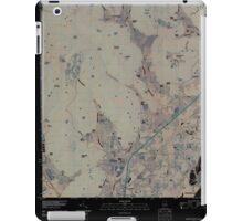 USGS TOPO Map Alabama AL Doran Cove 20100510 TM Inverted iPad Case/Skin