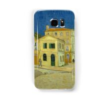 Vincent Van Gogh - The yellow house, September 1888 - 1888 Samsung Galaxy Case/Skin