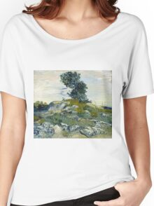 Vincent Van Gogh - The Rocks, 1888 Women's Relaxed Fit T-Shirt