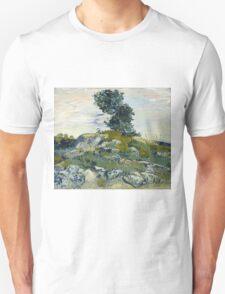 Vincent Van Gogh - The Rocks, 1888 Unisex T-Shirt