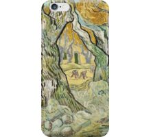 Vincent Van Gogh - The Road Menders, 1889 iPhone Case/Skin