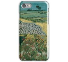 Vincent Van Gogh - The Plain of Auvers, 1890 iPhone Case/Skin