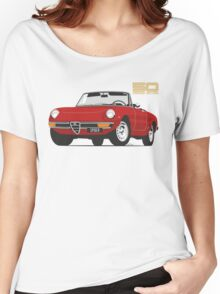 Alfa Romeo Series 2 Spider red Women's Relaxed Fit T-Shirt