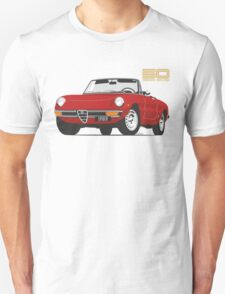 Alfa Romeo Series 2 Spider red Unisex T-Shirt