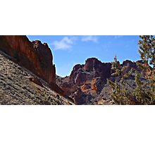 Leslie Gulch Jagged Peaks  Photographic Print