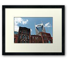 Nashville on Broadway Framed Print