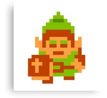 Classic Link - Legend of Zelda Canvas Print