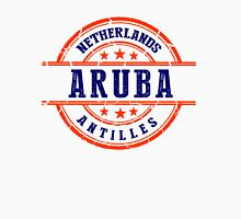 Aruba, The Netherlands Antilles Women's Fitted V-Neck T-Shirt