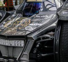 Batmobile- crazy car Sticker