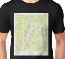 USGS TOPO Map Alabama AL Pollard 304875 1960 24000 Unisex T-Shirt