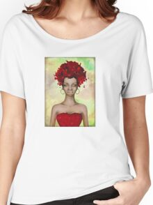 Crazy Red Hair morning Women's Relaxed Fit T-Shirt
