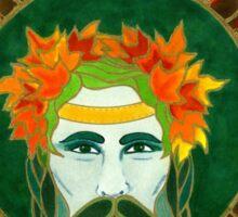 Autumnal King Sticker