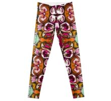 magic magnolia signed Leggings