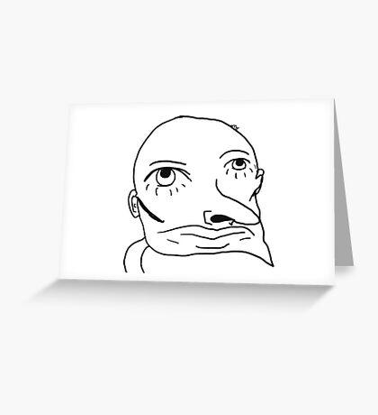 Har0ld Greeting Card