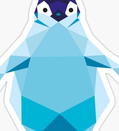Geometric Penguin Sticker