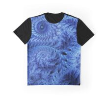 Christmas frost fractal ornament Graphic T-Shirt
