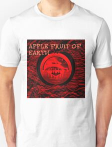 APPLE AND THE FLAT EARTH Unisex T-Shirt